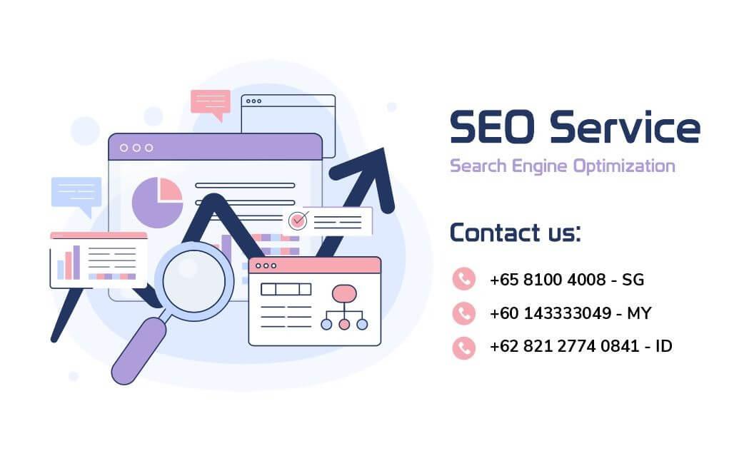 search engine optimization SEO banner Malaysia Indonesia and Singapore